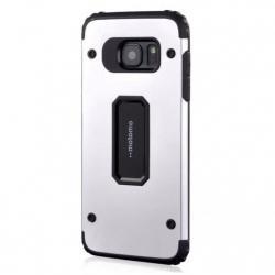 Husa Motomo Armor Hybrid Samsung Galaxy S7 Edge, Silver