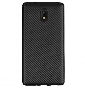 Husa Nokia 3 i-Zore Carbon, Negru