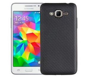 Husa Samsung Galaxy J3 (2016) i-Zore Carbon, Negru