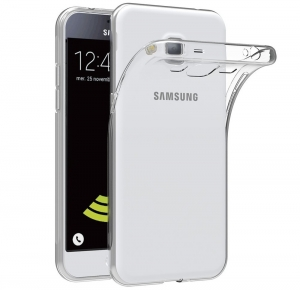 Husa Samsung Galaxy J3 (2016) TPU Slim, Transparent