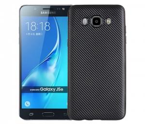 Husa Samsung Galaxy J5 (2016) i-Zore Carbon, Negru
