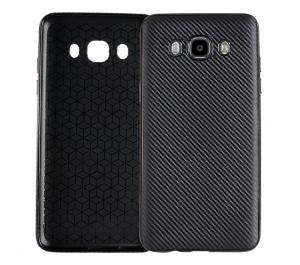 Husa Samsung Galaxy J7 (2016) i-Zore Carbon, Negru