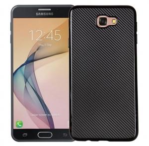 Husa Samsung Galaxy J7 Prime i-Zore Carbon, Negru