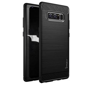 Husa Samsung Galaxy Note 8 iPaky Fiber, Negru