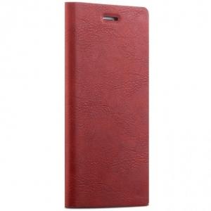 Husa tip carte Joyroom England iPhone 7, Rosu