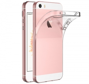 Husa TPU Slim iPhone 5 / 5S / SE, Transparent