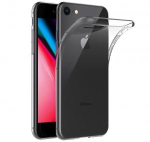 Husa TPU Slim iPhone 8, Transparent