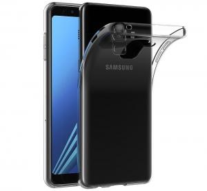 Husa TPU Slim Samsung Galaxy A8 (2018), Transparent