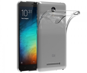 Husa TPU Slim Xiaomi Redmi Note 3, Transparent