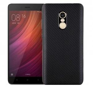 Husa Xiaomi Redmi Note 4 (Mediatek) i-Zore Carbon, Negru