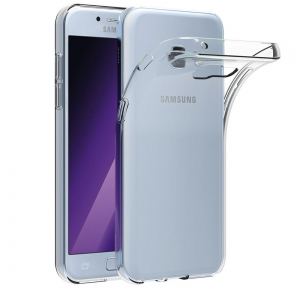 Husa Samsung Galaxy A7 (2017) TPU Slim, Transparent