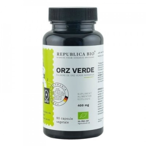 Orz Verde Ecologic din Germania (400 mg) Republica BIO, 90 capsule