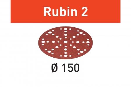 Festool Foaie abraziva STF D150/48 P40 RU2/50 Rubin 21