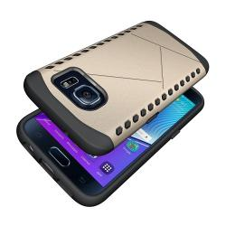 Husa Samsung Galaxy S7 G930-Iberry Armor Shield Gold