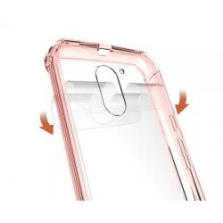 Husa Motorola Moto G4,G4 Plus-Iberry Shockproof Crystal Pink