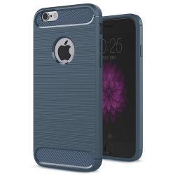 Husa Iphone 6,6S,6SE-Iberry Carbon Dark Blue