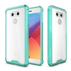 Husa LG G6 H870-Iberry Shockproof Crystal Green Mint