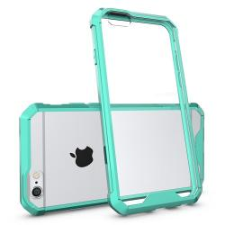Husa Iphone 6 Plus,6S Plus-Iberry Shockproof Crystal Green Mint
