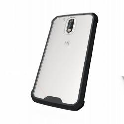 Husa Motorola Moto G4,G4 Plus-Iberry Shockproof Crystal Black