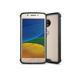 Husa Lenovo Motorola Moto G5 Plus-Iberry Shockproof Crystal Black
