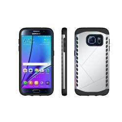 Husa Samsung Galaxy S7 G930-Iberry Armor Shield Silver