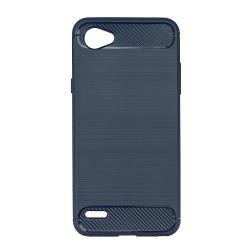 Husa LG Q6-Iberry Carbon Dark Blue