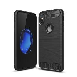 Husa Iphone X-Iberry Carbon Black