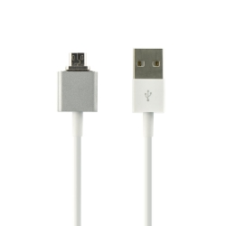Cablu Magnetic Micro USB Universal-RaxFly Silver