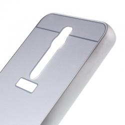 Husa Asus Zenfone 2 5.5 ZE550ML-Iberry Bumper Mirror Silver