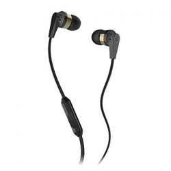 Casti Audio In-Ear cu Microfon Skullcandy Ink'd-S2IKDY-144 Negru/Auriu