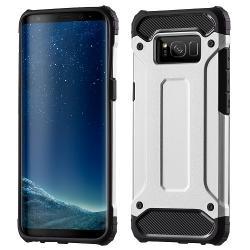 Husa Samsung Galaxy S8 Plus G955-Iberry Armor Hybrid Silver