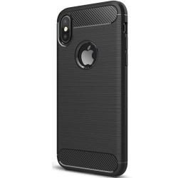 Husa Apple iPhone XS,Apple iPhone X-Iberry Carbon Black