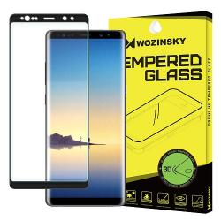 Folie Sticla Samsung Galaxy Note 8-Wozinsky 3D Black