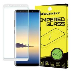 Folie Sticla Samsung Galaxy Note 8-Wozinsky 3D White