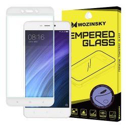 Folie Xiaomi Redmi 4A,3S-Wozinsky Tempered Glass 3D Soft White