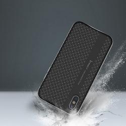Husa Apple iPhone XS,Apple iPhone X-Ipaky Bumblebee Silver