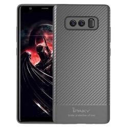 Husa Samsung Galaxy Note 8 N950-Ipaky Carbon Fiber Gray