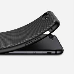 Husa Iphone 7 Plus,Iphone 8 Plus-Ipaky Carbon Fiber Black