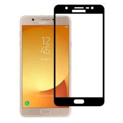 Folie Samsung Galaxy J7 J730 (2017)-Pro+ 3D Soft Full Glue Black