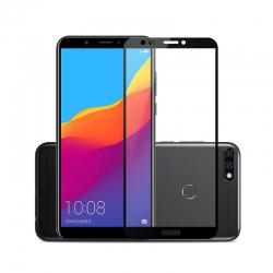 Folie Sticla Huawei Y6 2018-Iberry 5D Neagra