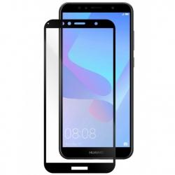 Folie Sticla Huawei Y6 2018-Pro+ Full Glue 5D Soft Neagra