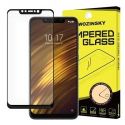 Folie Sticla Xiaomi Pocophone F1-Wozinsky Full Glue Black