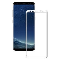 Folie Samsung Galaxy S8-Iberry Tempered Glass 3D White