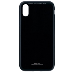 Husa Apple Iphone X,Iphone 10-Iberry Glass Black