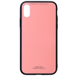 Husa Apple Iphone X,Iphone 10-Iberry Glass Pink