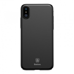 Husa Apple Iphone XS, Iphone X - Baseus Ultra Thin Negru