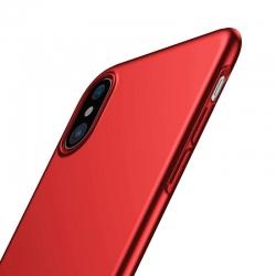 Husa Apple Iphone XS, Iphone X - Baseus Ultra Thin Rosu