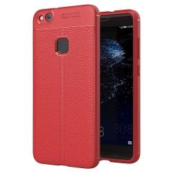 Husa Huawei P10 Lite (2017)-Iberry Litchi Flexible Red