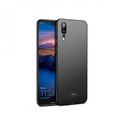 Husa Huawei P20 (2018) + Tempered Glass-MSVII Black