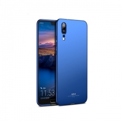 Husa Huawei P20 (2018) + Tempered Glass-MSVII Blue